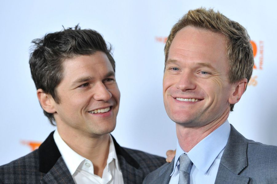 David Burtka et Neil Patrick Harris à Hollywood, le 4 décembre 2011.