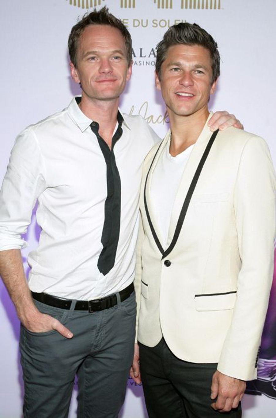 David Burtka et Neil Patrick Harris à Las Vegas, le 29 juin 2013.