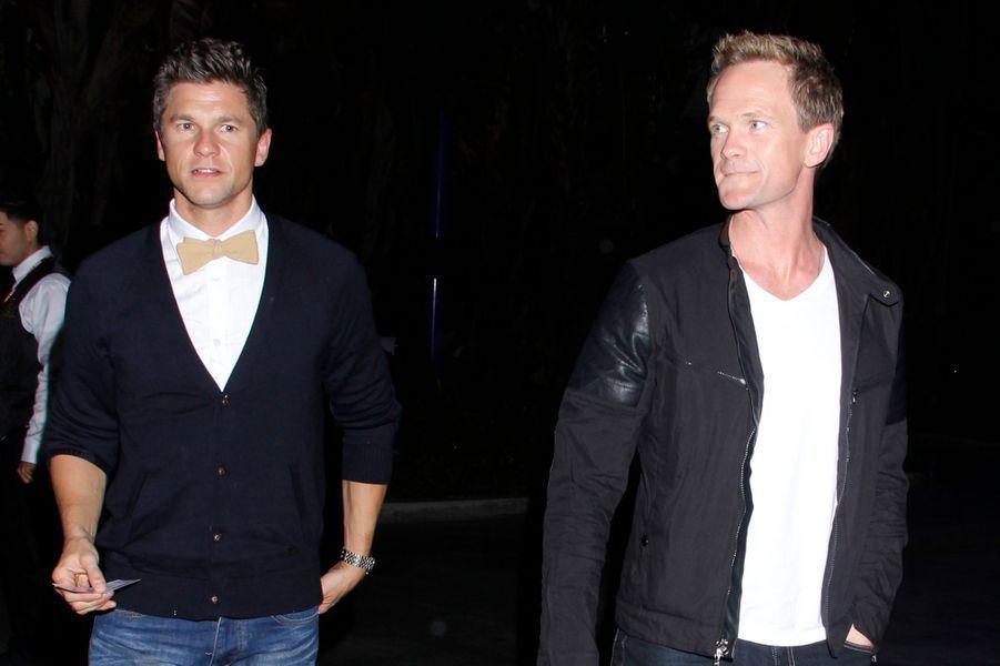 David Burtka et Neil Patrick Harris à Los Angeles, le 10 octobre 2012.
