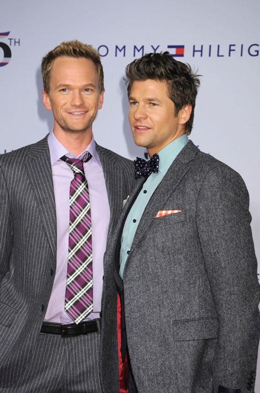 Neil Patrick Harris et David Burtka à New York, le 12 septembre 2010.