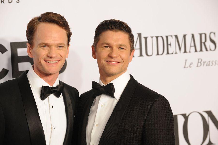 Neil Patrick Harris et David Burtka à New York, le 8 juin 2014.