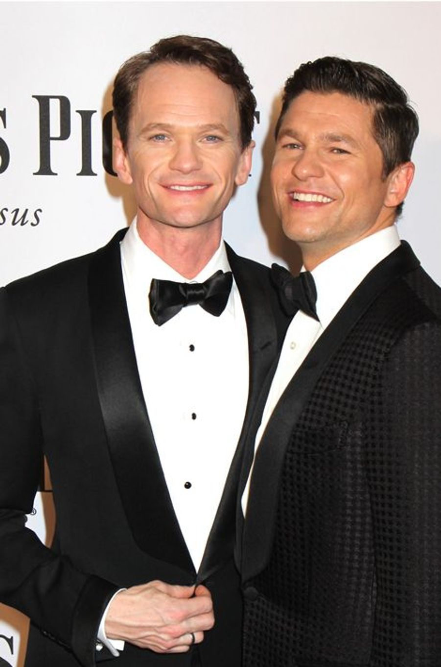 Neil Patrick Harris et David Burtka à New York, le 8 juin 2014.