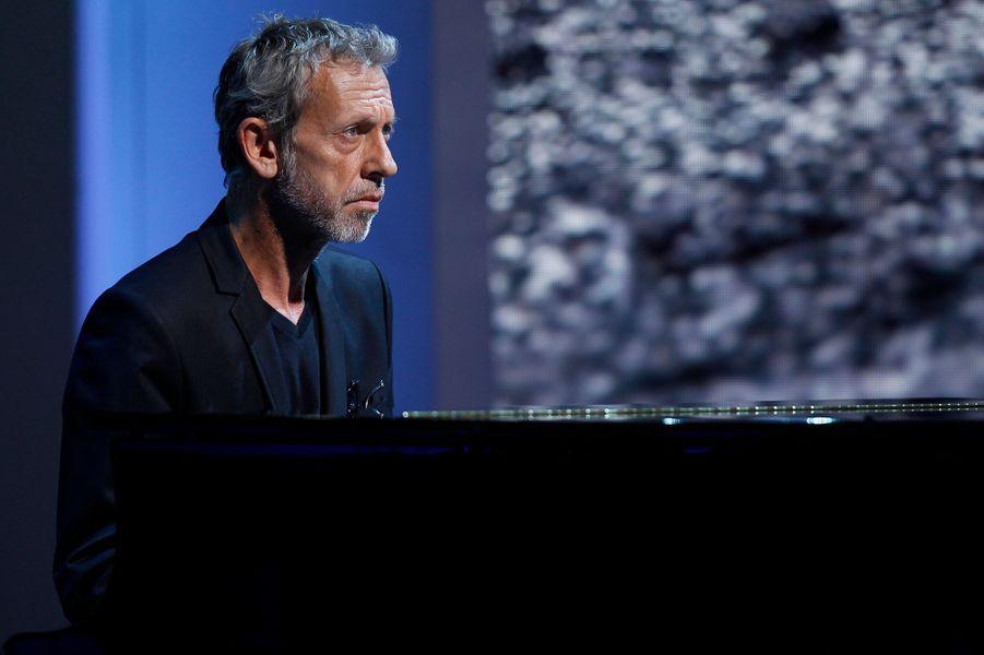 Alain Lanty lors de l'enregistrement de «Vivement Dimanche» Omar Sy à Paris, le 1er octobre 2014