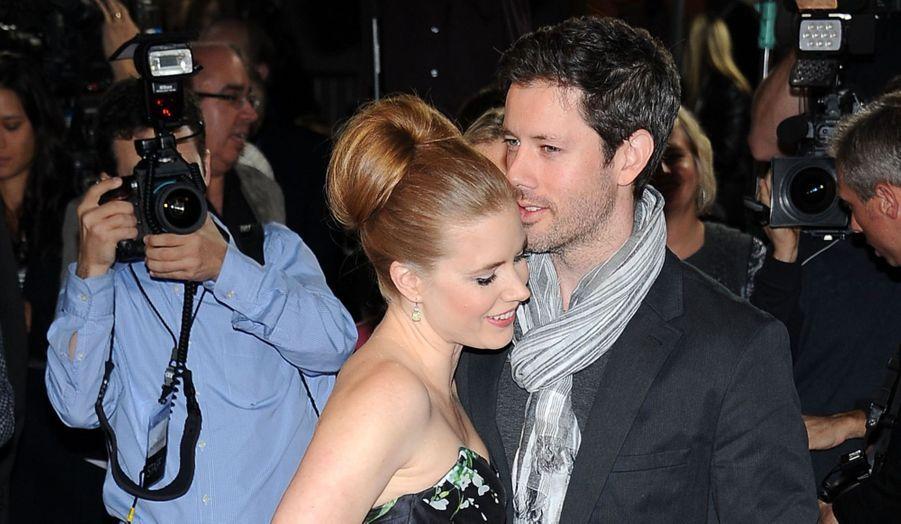 Amy Adams est venue accompagnée de son fiancé, Darren Le Gallo.