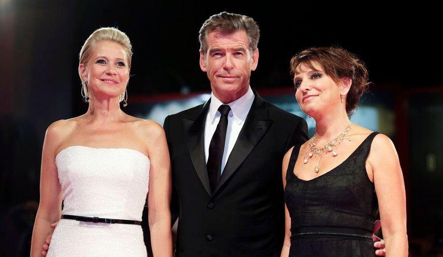 Susanne Bier, Pierce Brosnan et Trine Dyrholm