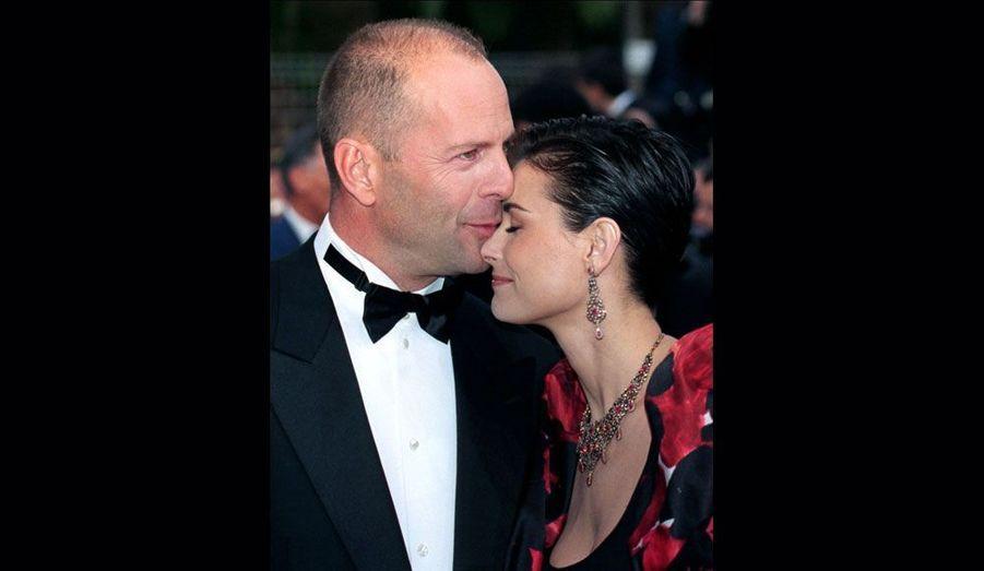 Pendant leurs treize années de mariage, Bruce Willis et Demi Moore ont représenté le couple parfait. Mais l'amour n'a pas survécu au temps et les deux stars ont fini par divorcer en 2000.