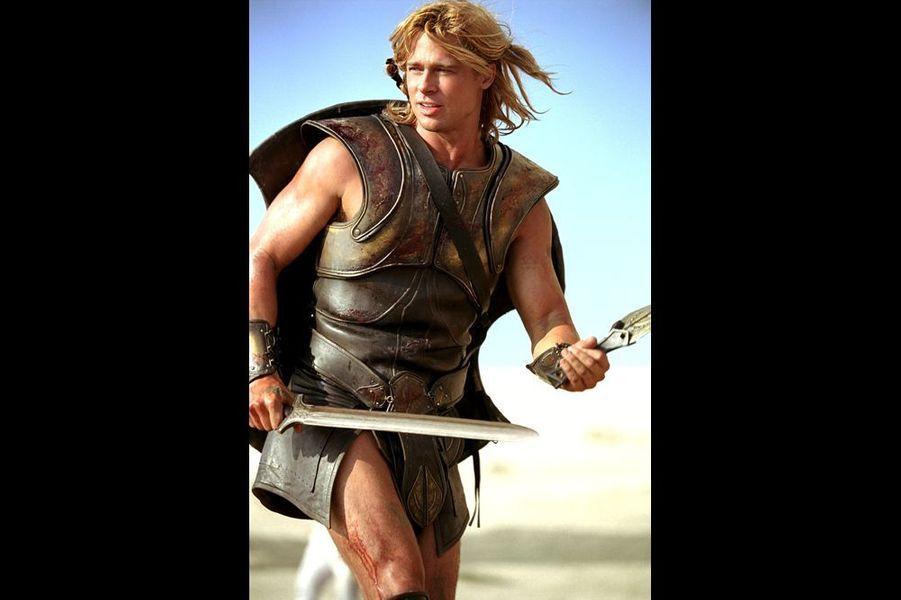 """Brad Pitt dans """"Troie"""" de Wolfgang Petersen (2004)"""