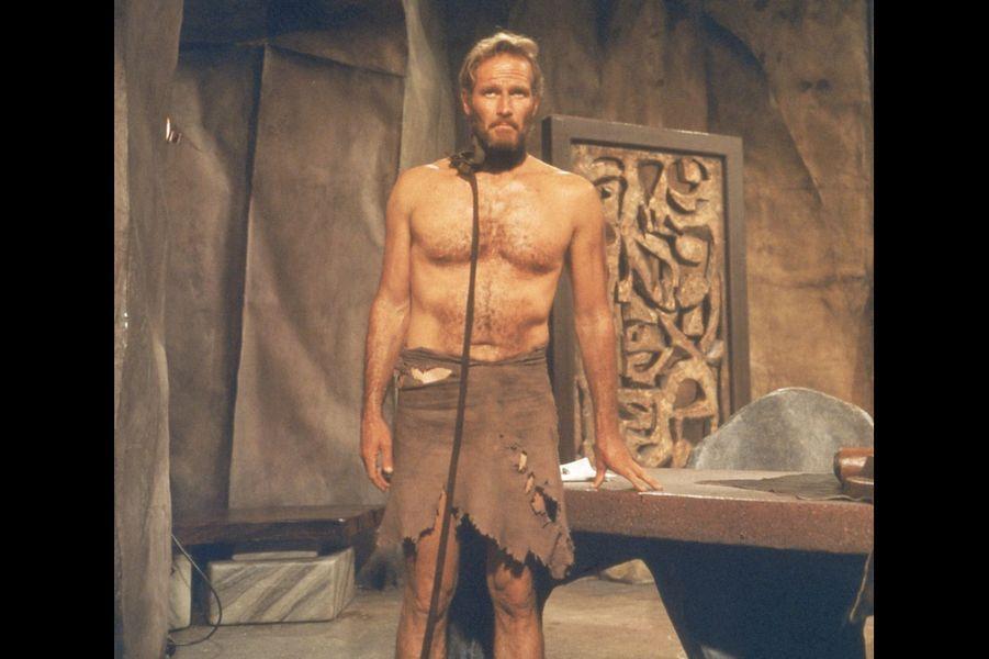 """Charlton Heston dans """"La planète des singes"""" de Franklin J. Schaffner (1968)"""