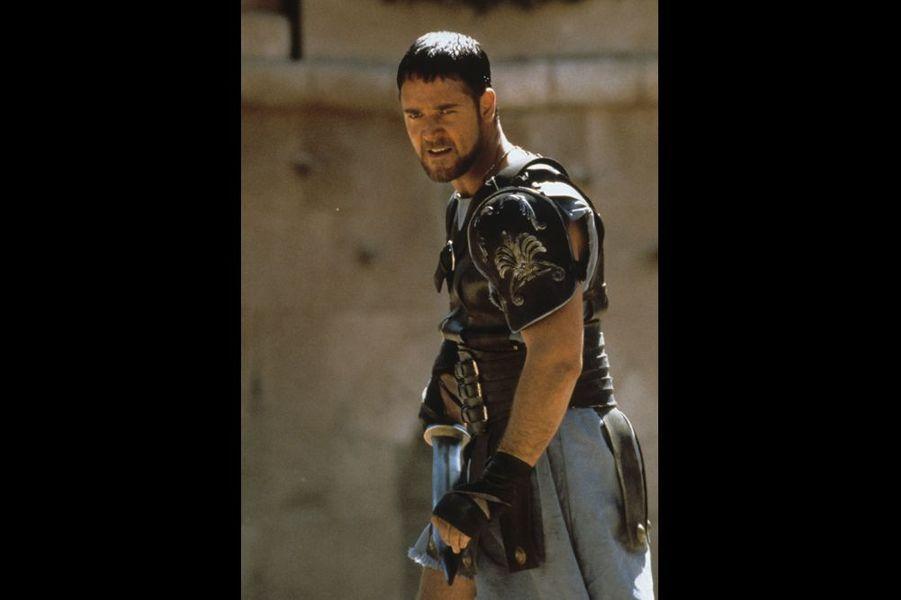 """Russell Crowe dans """"Gladiator"""" de Ridley Scott (2000)"""