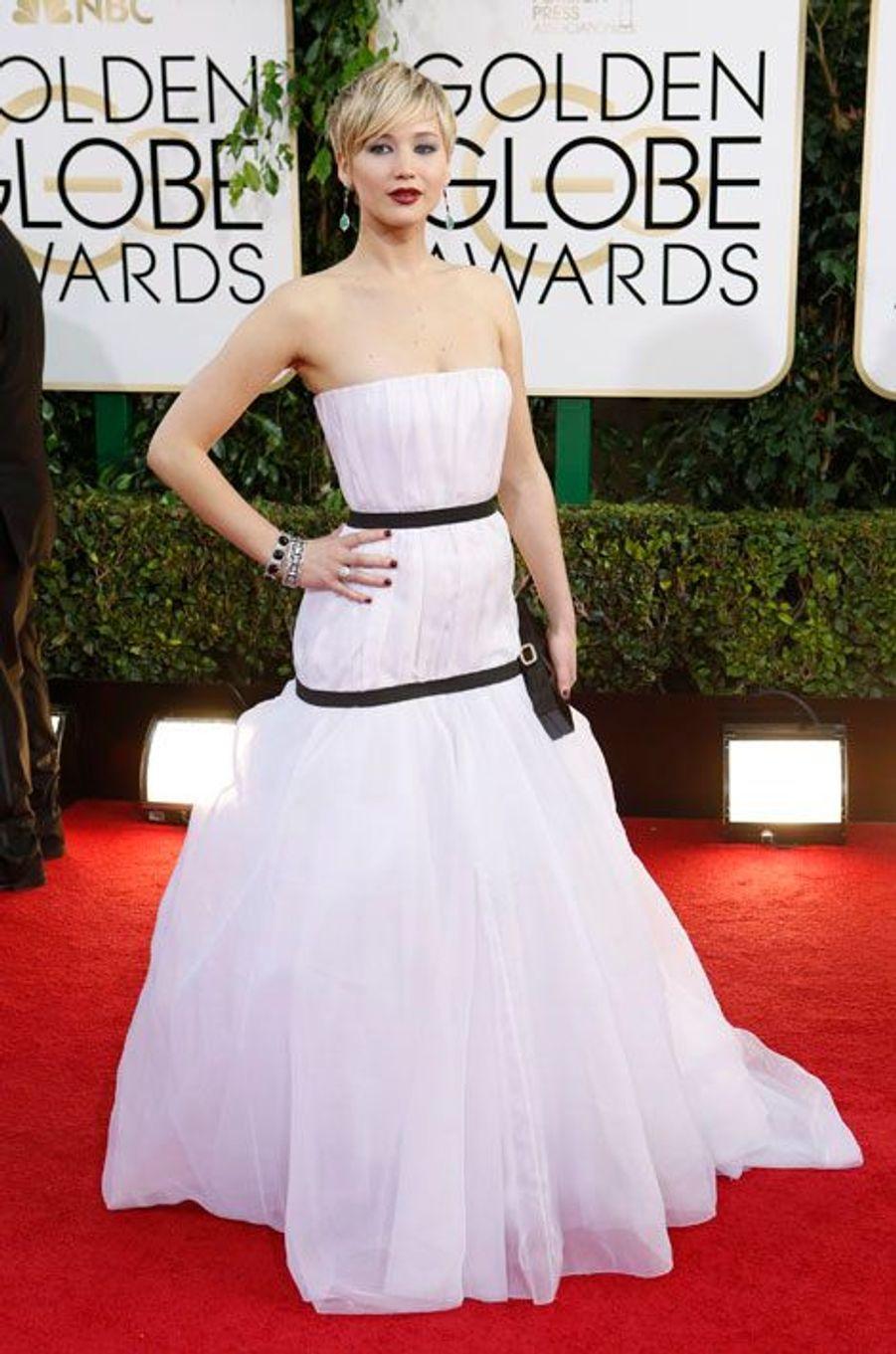Jennifer Lawrence, en Dior