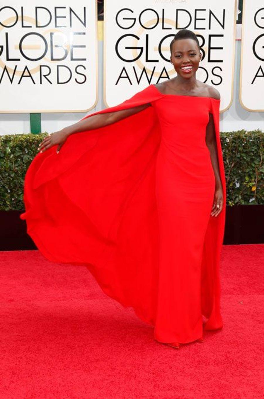 Lupita Nyong'o, en Ralph Lauren