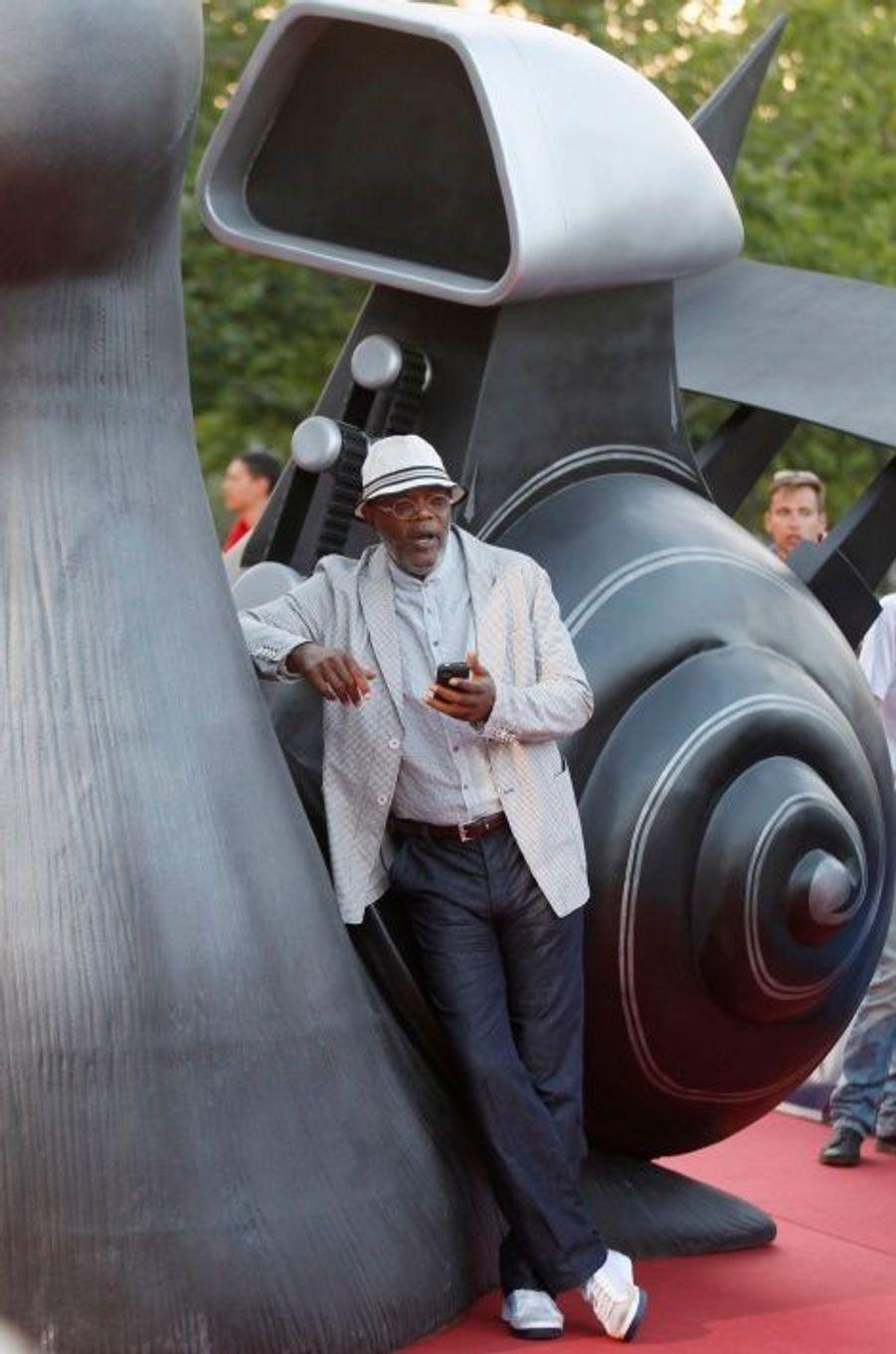 Pause téléphone pour Samuel L. Jackson