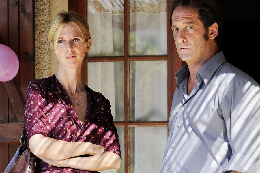Sandrine Kiberlain et Vincent Lindon, dans le film Mademoiselle Chambon en 2009