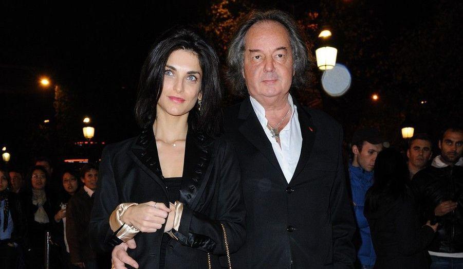 Pauline Delpech et Gonzague Saint Bris