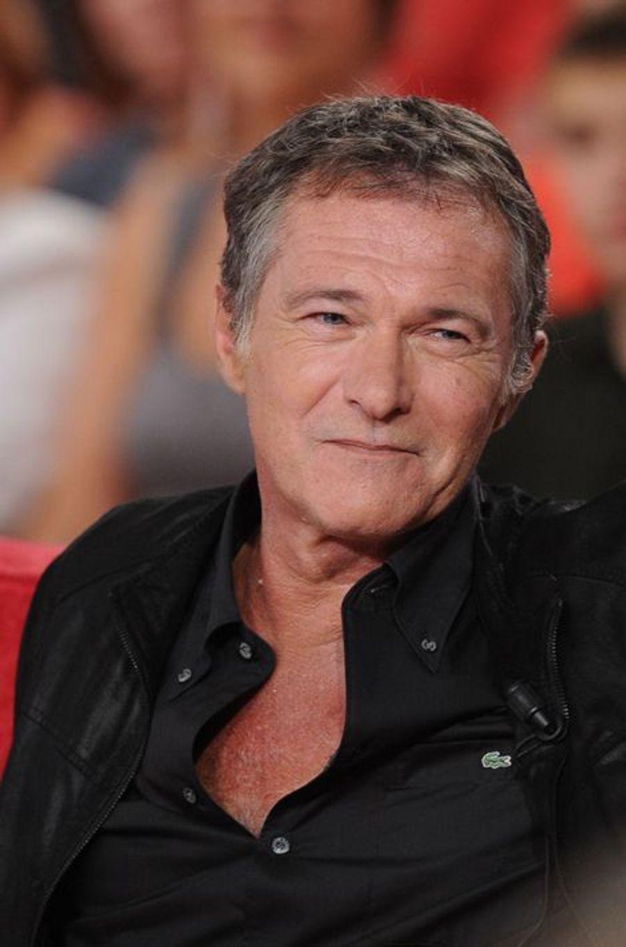 Bruno Wolkowitch lors de l'enregistrement de «Vivement Dimanche» Sophie Marceau sur France 2 le 17 septembre 2014.