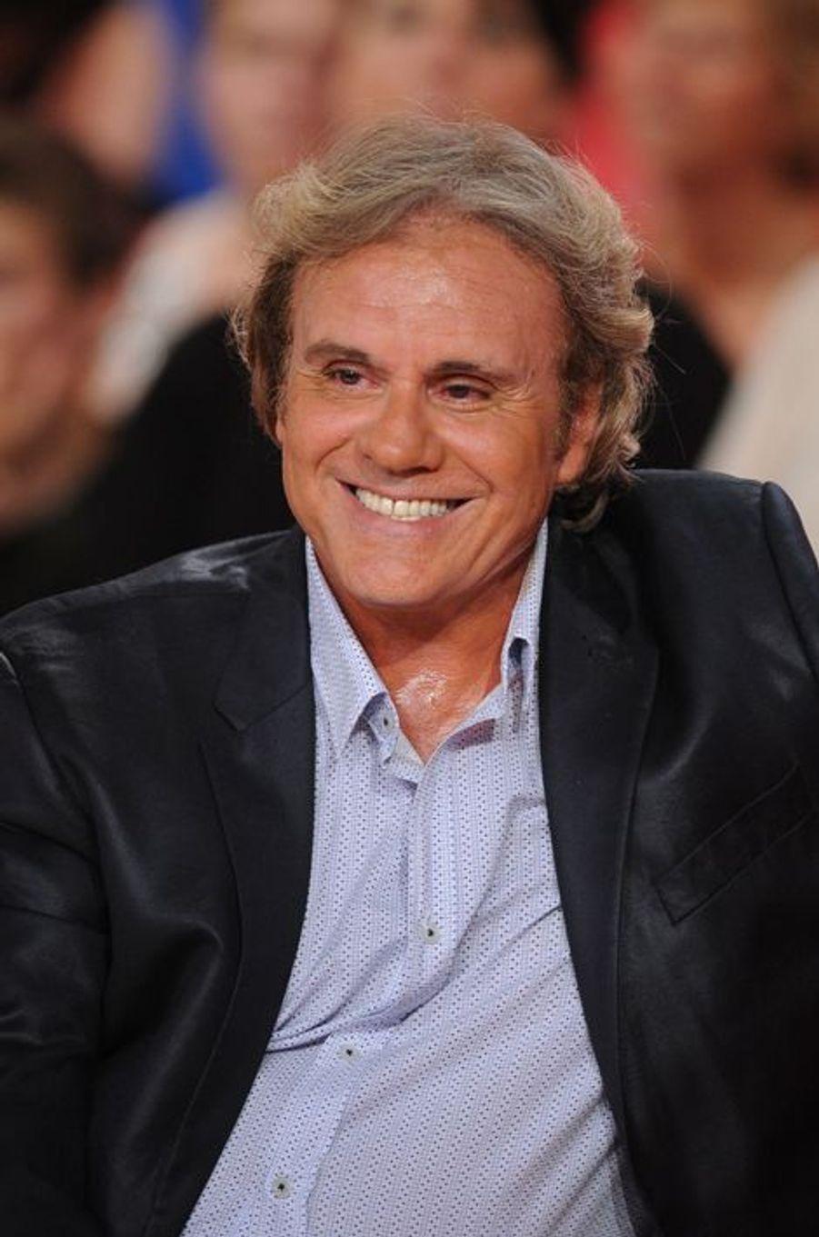 François Valéry lors de l'enregistrement de «Vivement Dimanche» Sophie Marceau sur France 2 le 17 septembre 2014.
