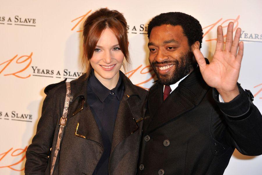 Chiwetel Ejiofor et sa femme Shari Mercer