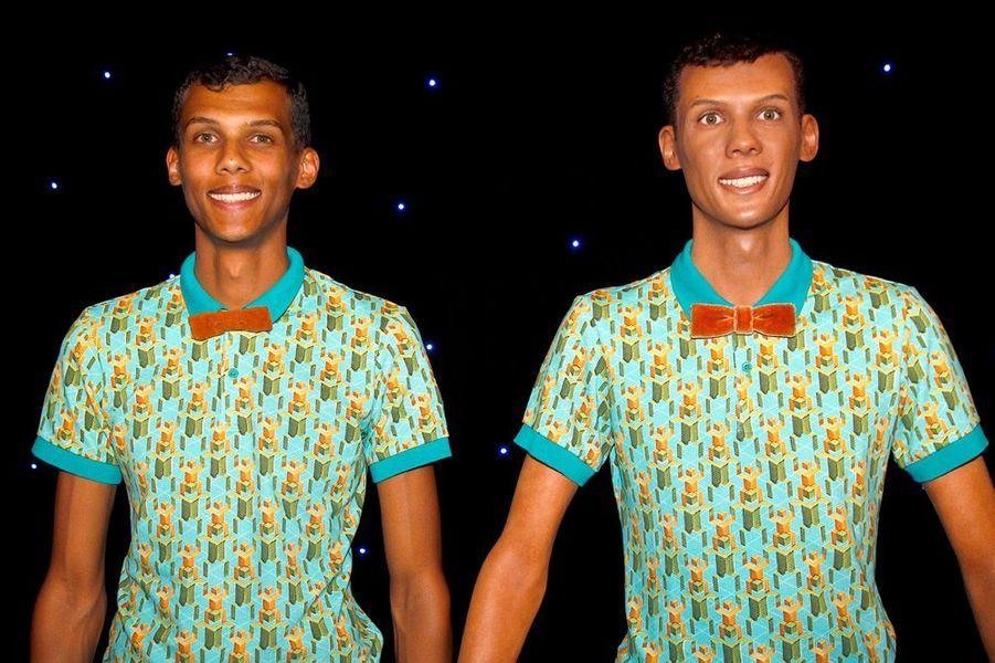 Stromae au musée Grévin dimanche 12 octobre 2014