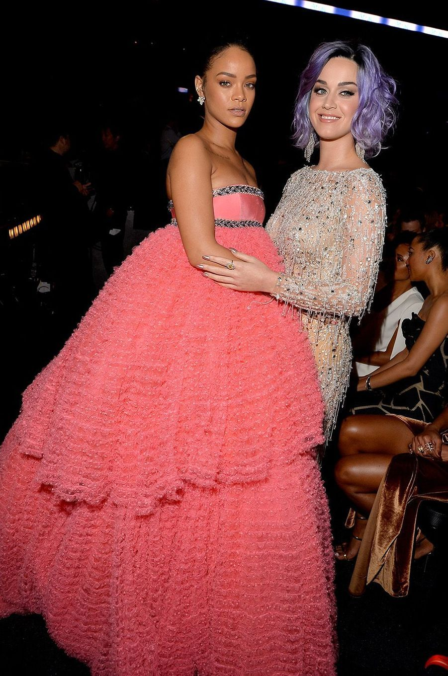 Rihanna et Katy Perry