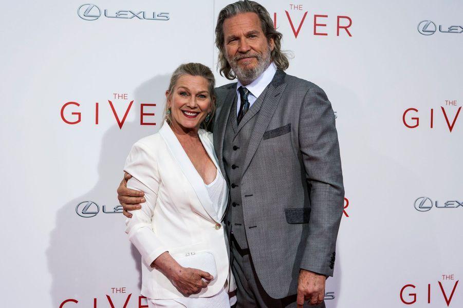 Jeff Bridges et sa femme