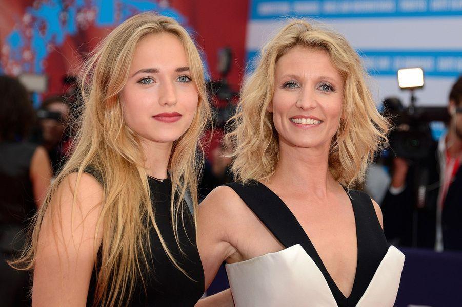 Alexandra Lamy avec sa fille Chloé