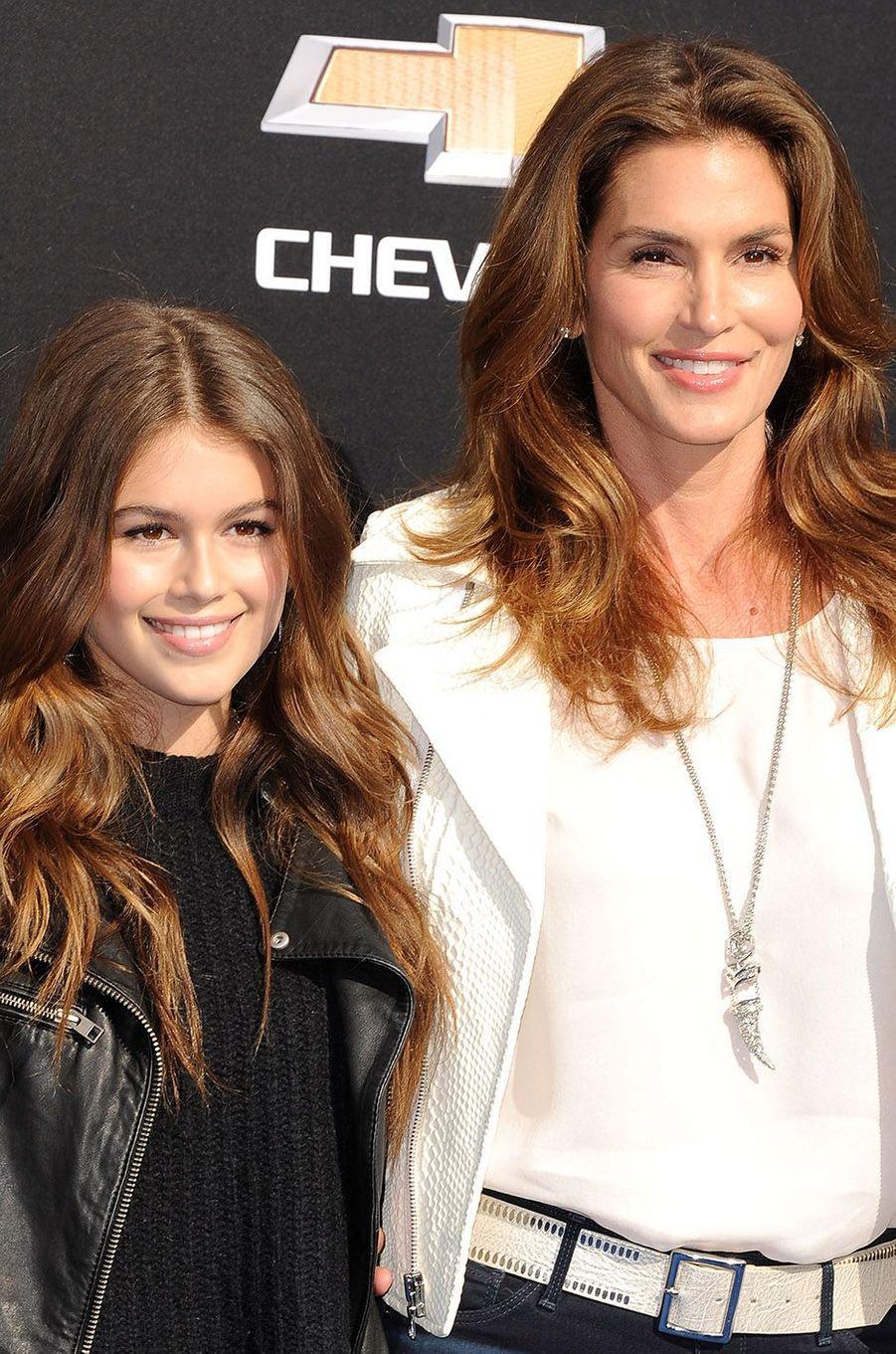 Cindy Crawford et sa fille