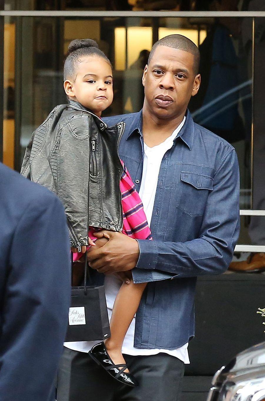 Jay Z et sa fille Blue Ivy