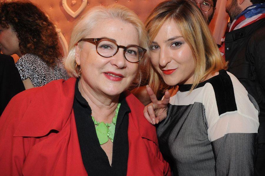 Josiane Balasko et sa fille