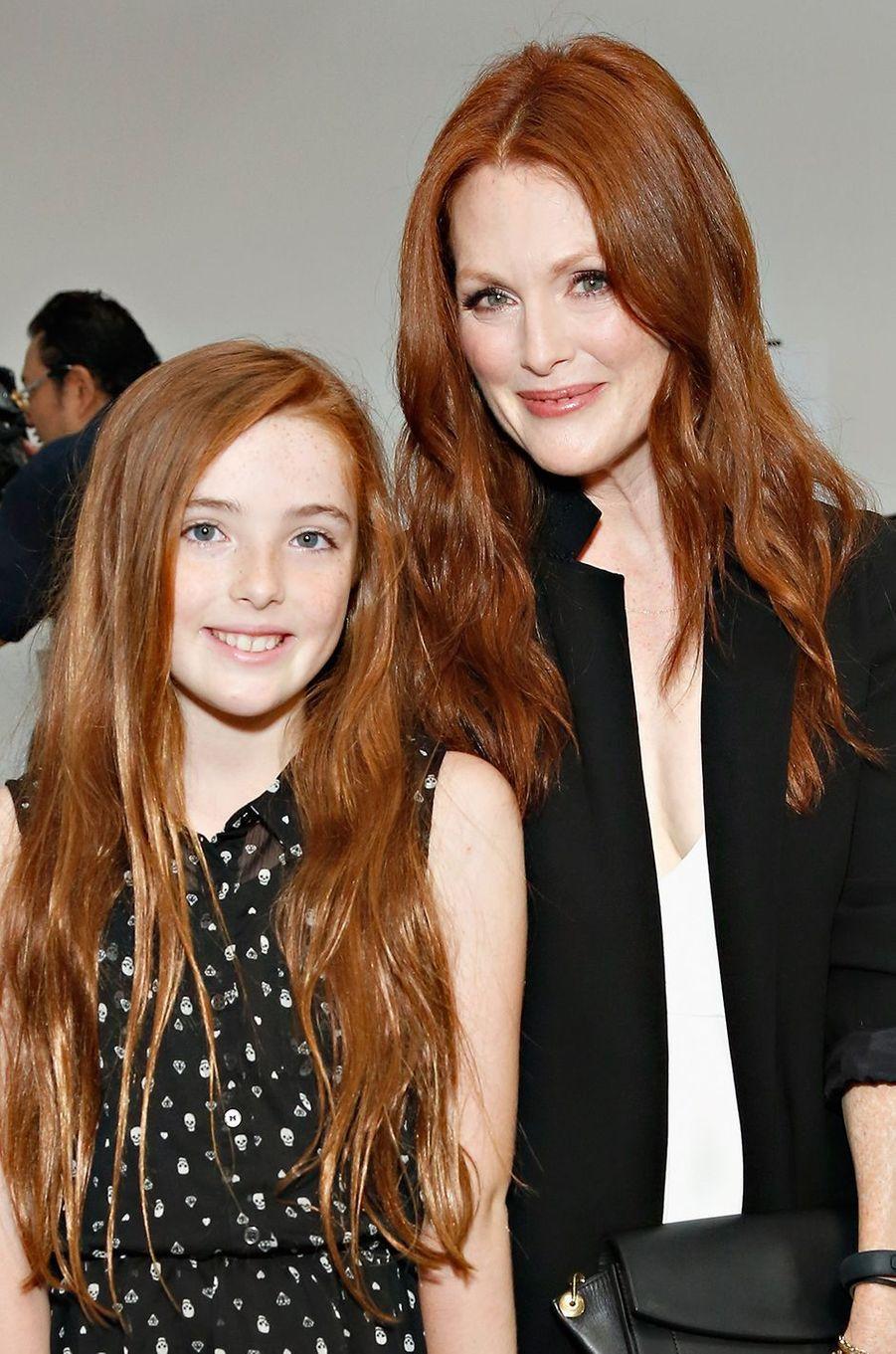 Julianne Moore et sa fille