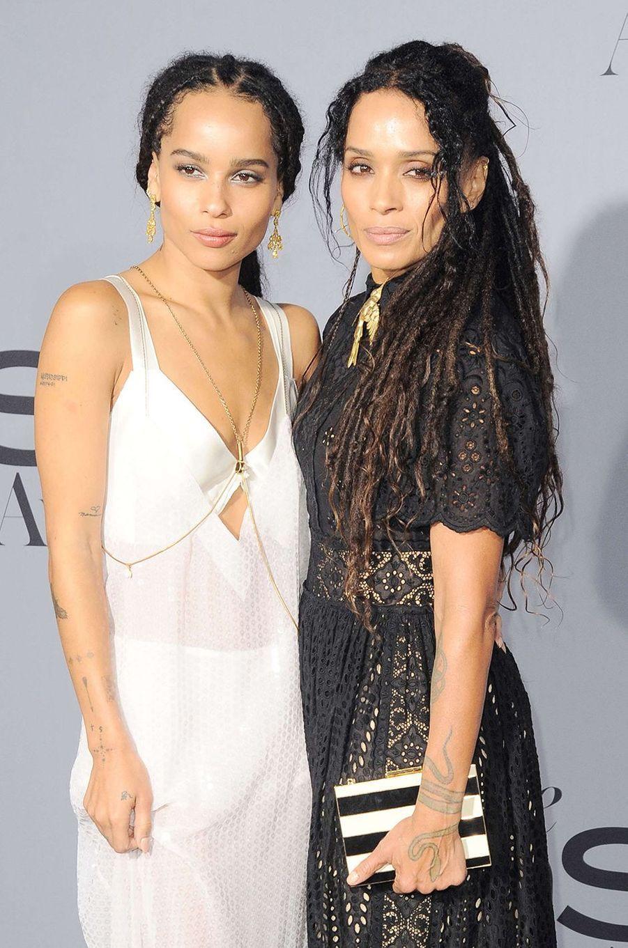Lisa Bonnet et sa fille Zoé Kravitz