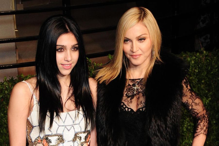 Madonna avec sa fille Lourdes