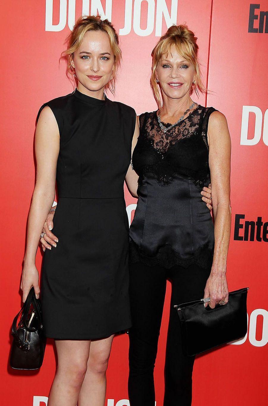 Melanie Griffith et sa fille Dakota Johnson