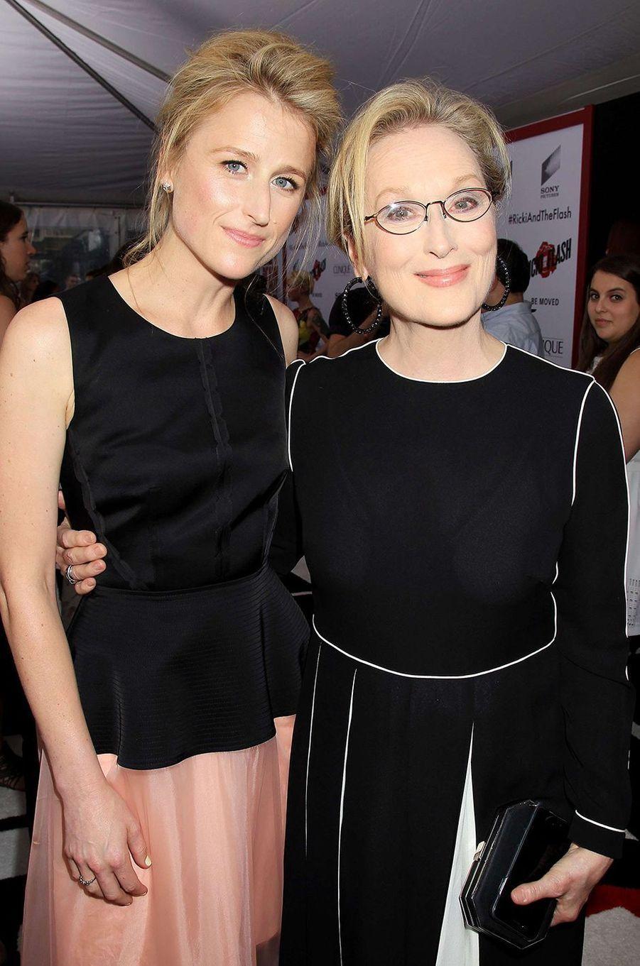 Meryl Streep avec sa fille