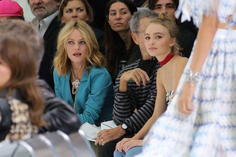 Vanessa Paradis avec sa fille Lily-Rose Depp