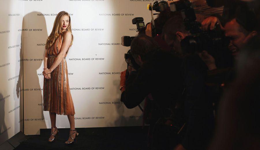 Les National Board of Review awards, qui récompensent les meilleurs films de l'année se sont tenus mardi soir à New York. Pour l'occasion, les stars les plus en vue de 2012 du moment ont fait le déplacement. Amanda Seyfried, Anne Hathaway et leurs partenaires dans «Les Misérables» ont remporté le prix du meilleur casting. De son côté, Ben Affleck a été récompensé pour son film «Argo», succès au box-office et favori des prochains Oscars.