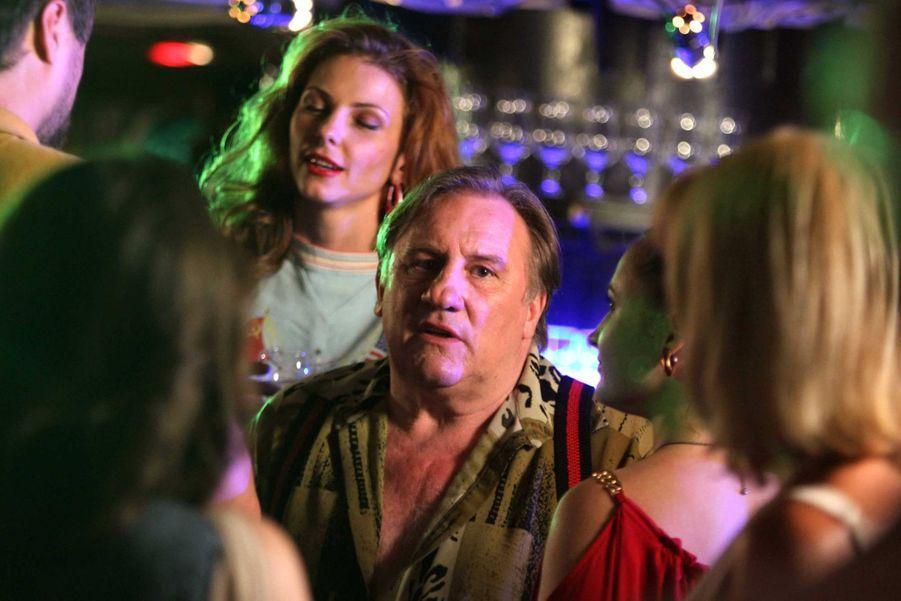 Gérard Depardieu sur le tournage de «Rabbit + 1» au VIP Club de Moscou, le 8 juillet.