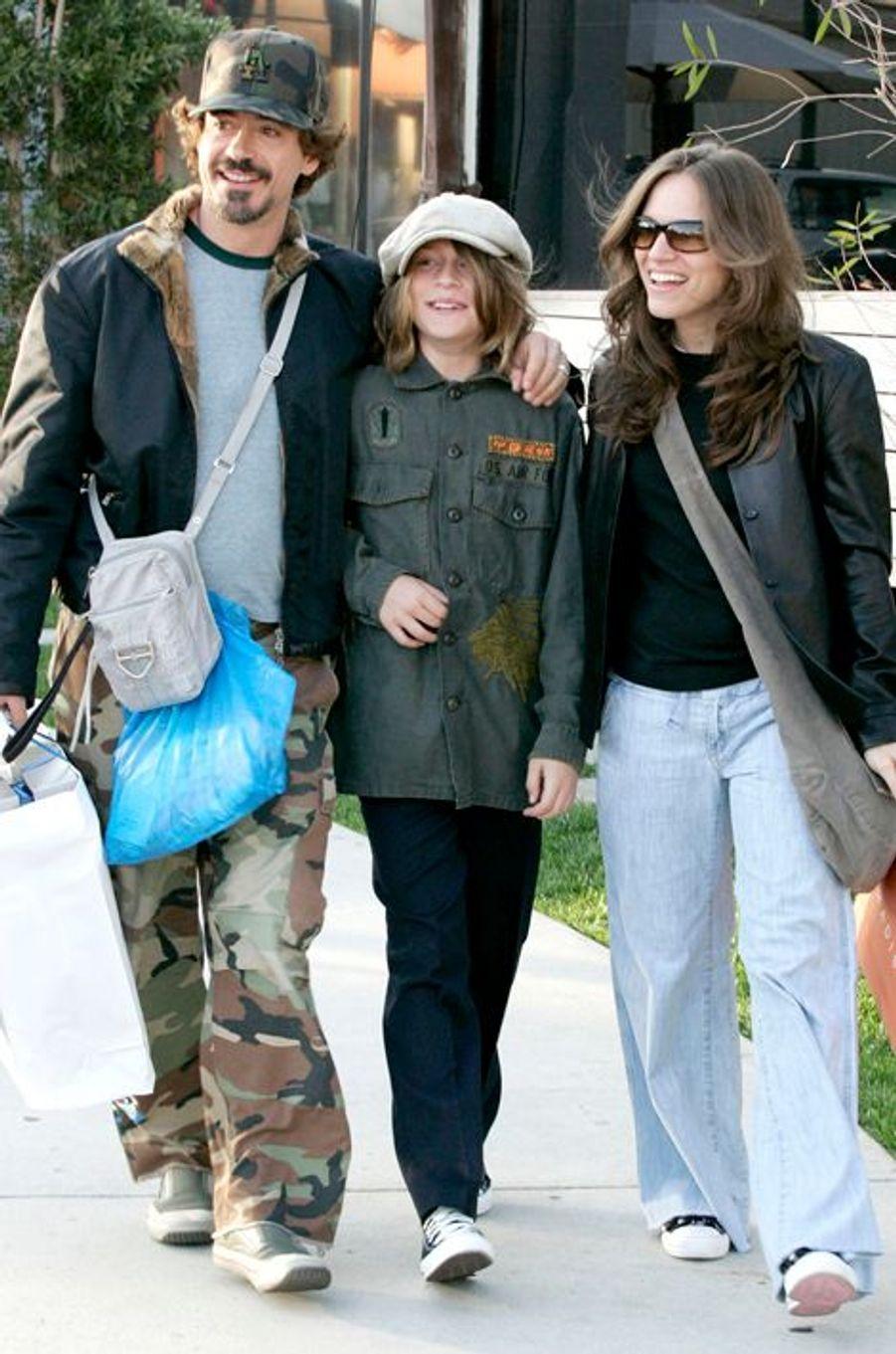 Avec Susan et Indio à Malibu en 2005