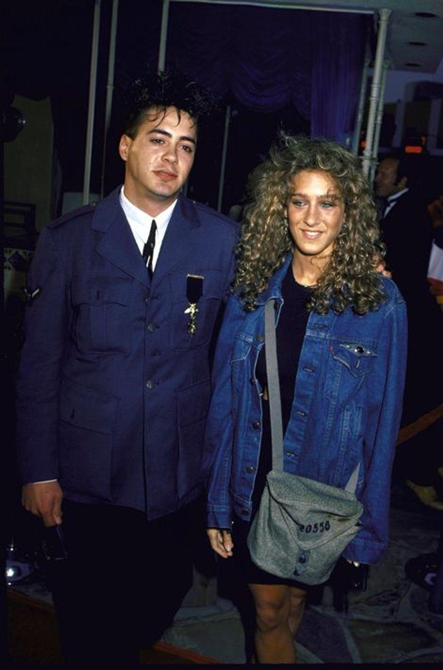 Première romance hollywoodienne pour Robert Downey Jr. et Sarah Jessica Parker