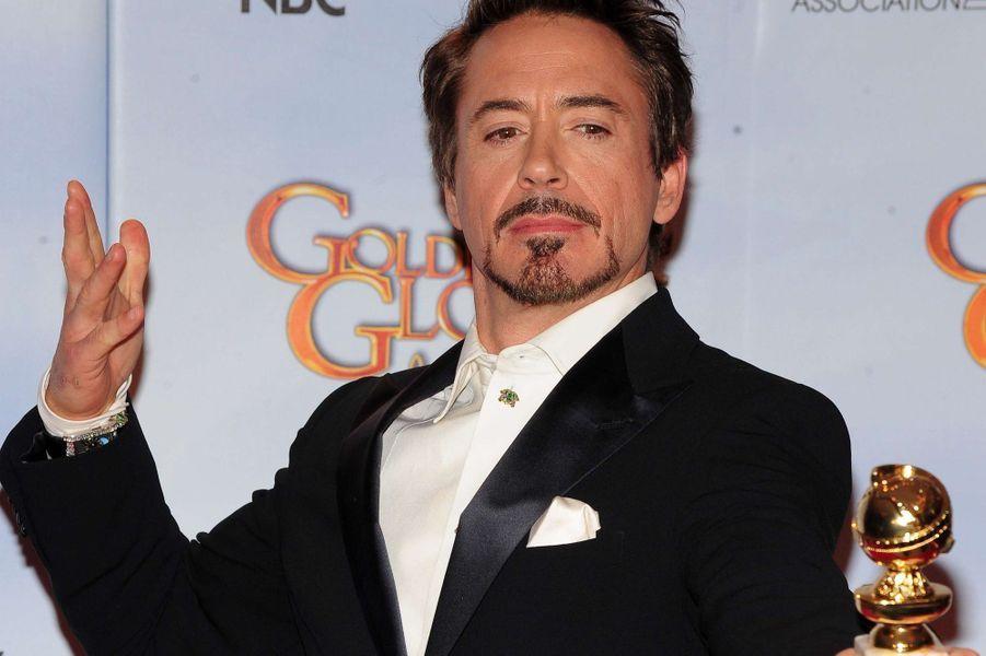 """Primé aux Golden Globes de 2010 pour son rôle dans """"Sherlock Holmes"""""""