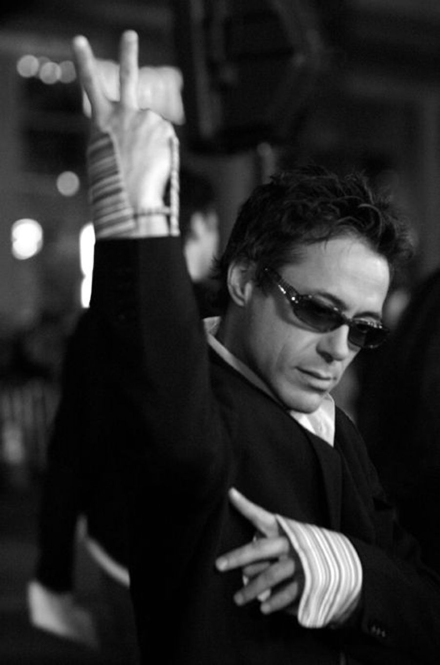 Robert Downey Jr. à 39 ans en 2004