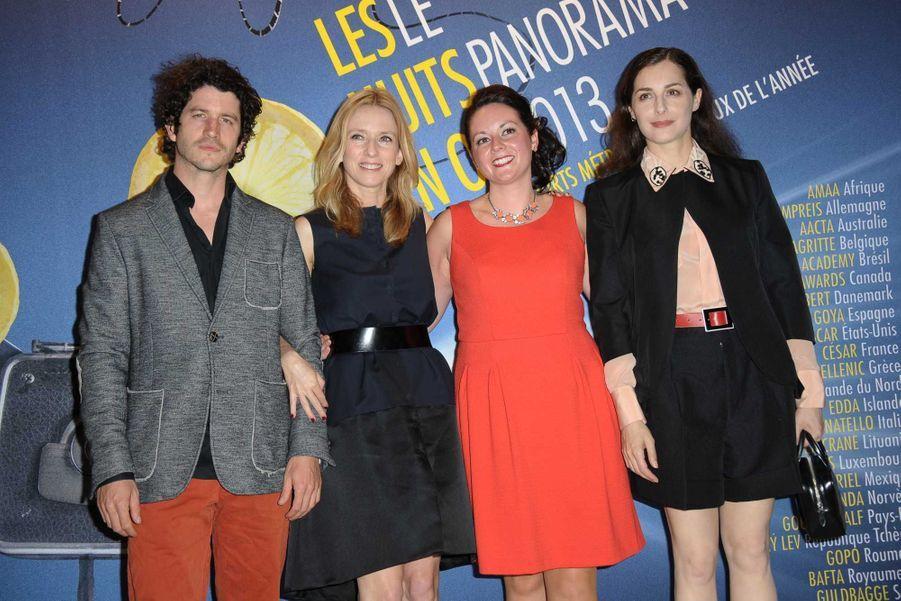Clement Sibony, Lea Drucker, Cathy Brady et Amira Casar