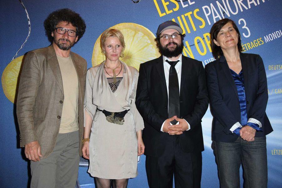 Radu Mihaileanu, Florence Thomassin, Izeraliu et Catherine Corsini