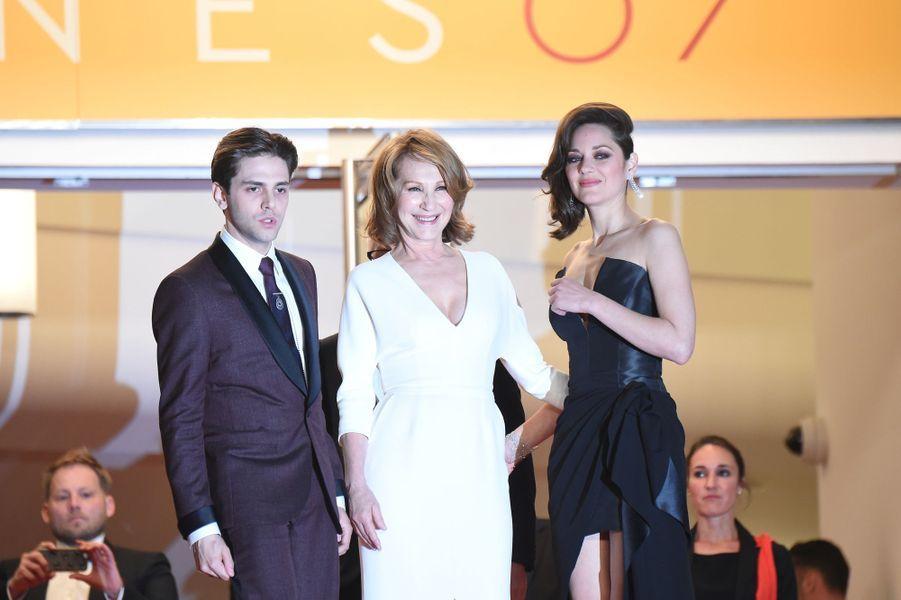 Xavier Dolan, Nathalie Baye et Marion Cotillard