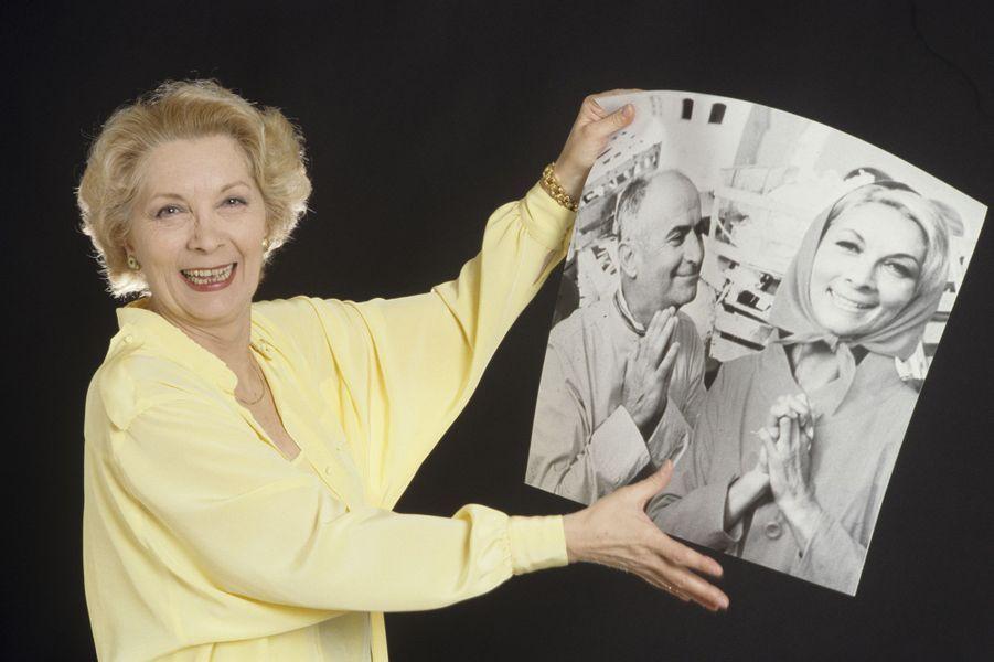 Claude Gensac a été 10 fois l'épouse de Louis de Funès sur grand écran.