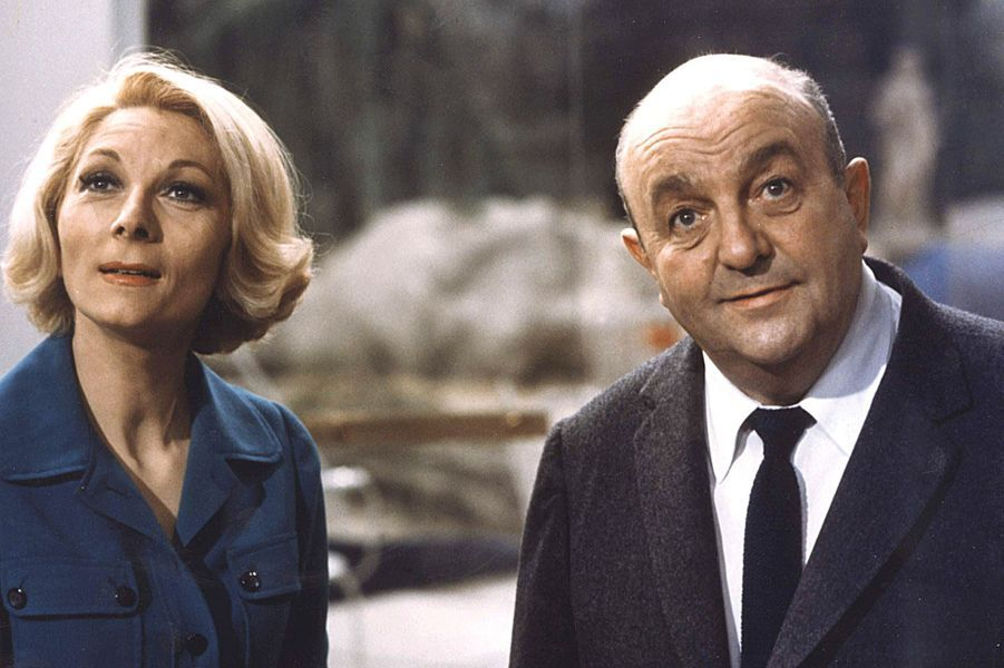 "Claude Gensac dans ""Jo"" avec Bernard Blier."