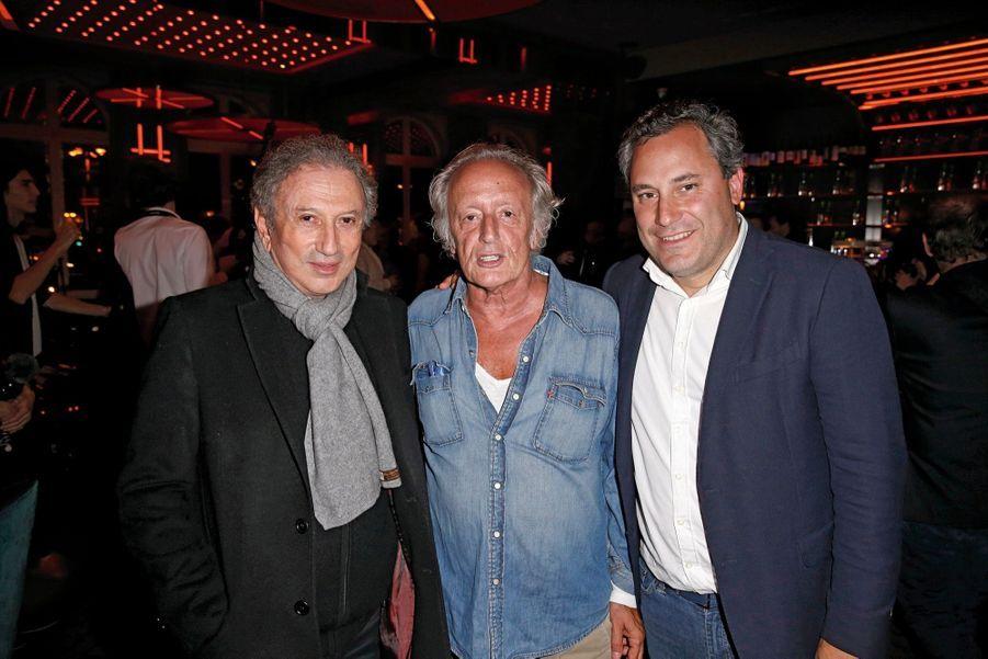 Michel Drucker, Didier Barbelivien et Benjamin Patou