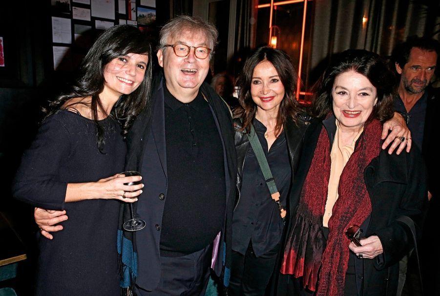 Salomé Lelouch, Dominique Besnehard, Evelyne Bouix et Anouk Aimée.
