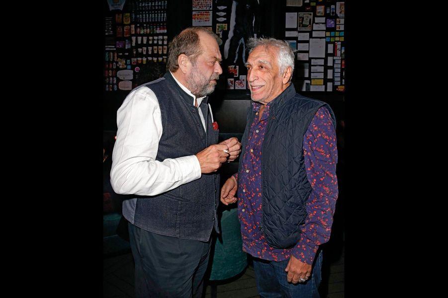 L'avocat Eric Dupond-Moretti (qui a joué dans « Chacun sa vie ») et Gérard Darmon.