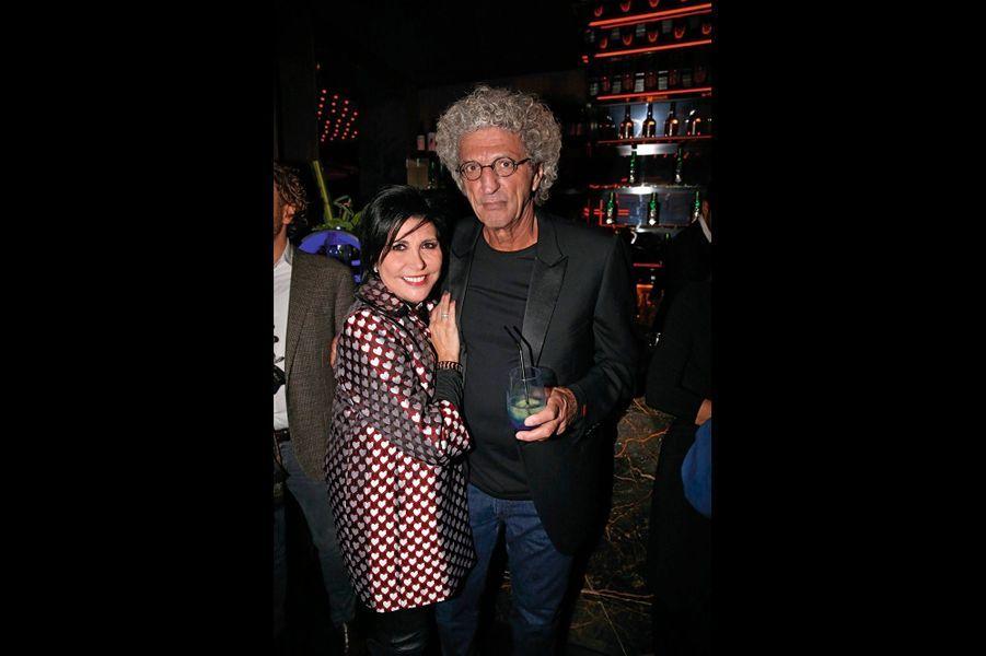 Liane Foly et Elie Chouraqui.