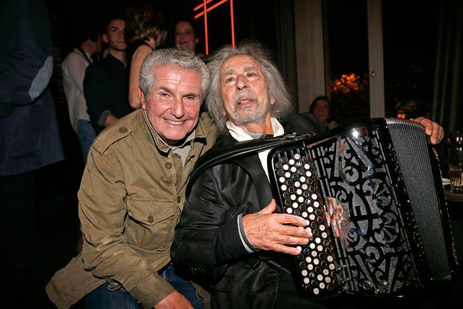 Claude Lelouch et Francis Lai.